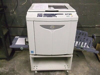 Riso EZ221 High Speed Digital Duplicator NETWORKED & MAKING EXCELLENT PRINT