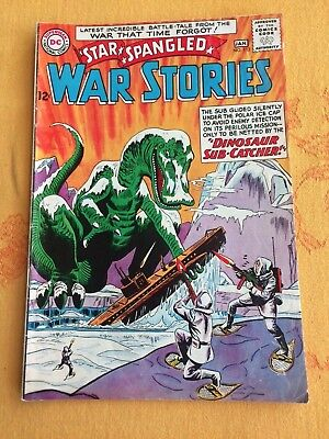 Star Spangled War Stories 112 DC 1963 Silver Age