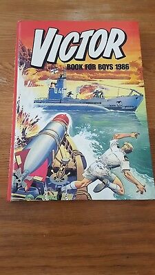 Victor Book For Boys - Annual 1986