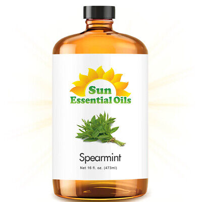 Best Spearmint Essential Oil 100% Purely Natural Therapeutic Grade 16oz