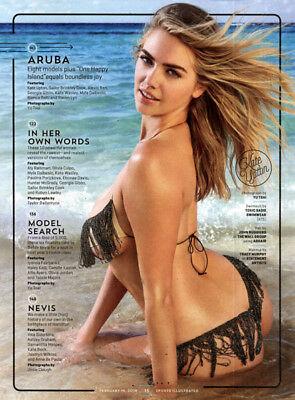 Kate Upton->48 ads & clippings of sexy American Supermodel