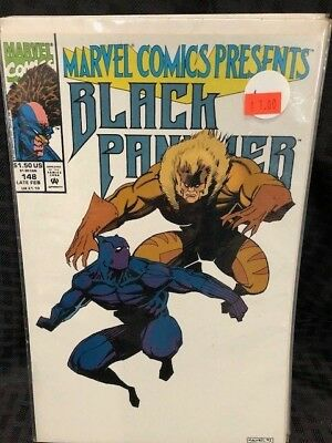 Marvel Comics Presents#148 Vf 1994 Black Panther