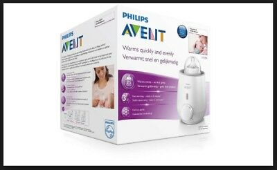 Philips Avent Fast 3 Minute Quick Baby Bottle & Food Warmer Defrost