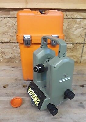 Leica/Wild Heerbrugg WILD T2000 Theomat Electronic Precision Theodolite w/Case