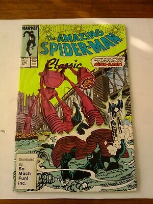 The Amazing Spider-Man Classic 292 So Much Fun Inc. Rare 2Nd Printing Gd-