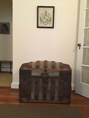 Antique Victorian Dome Top Chest/Trunk 1880-1920