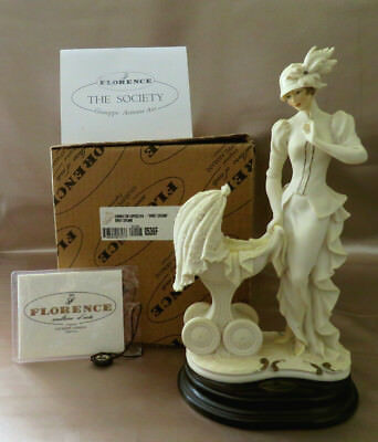 774f26d4b0c30 SWEET DREAMS LADY & Baby BOX Florence Giuseppe Armani Sculpture Figurine  0536F