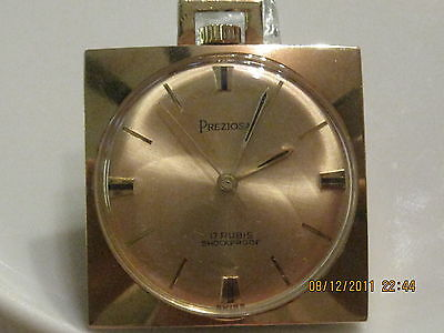 Watch Preziosa 17 Rubis Shoockproof Swiss Plated – Hand Wound Replacemnt