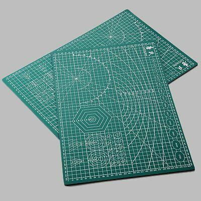 Green PVC Cutting Mat A5 Self-Healing Pad Sewing Quilting Embroidery 450*300*3mm