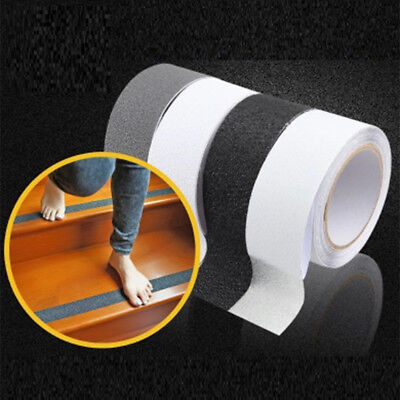1 Roll 5M Rubberized Anti Slip Safety Tape Non Skid Stair Step Grip Boat New US