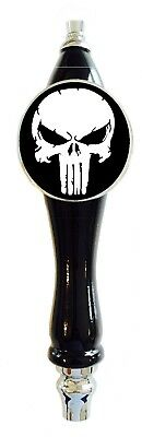 Skull Punisher Beer Tap Handle tapper Kegerator Bar Draft Faucet Knob Sign