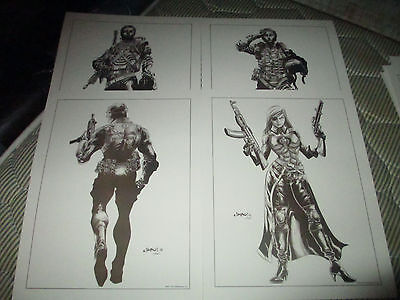 (8) GI JOE LITHOGRAPHS 2012 By Jimbo-Limited Edition!!