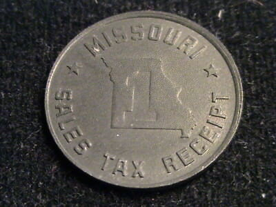 Missouri Sales Tax Receipt Token   L124   T19