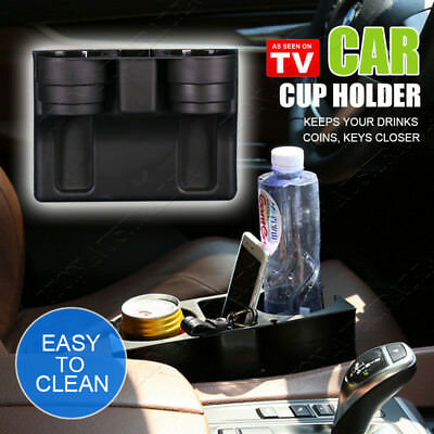 Car Cleanse Seat Drink Cup Holder Valet Travel Coffee Bottle Table Stand