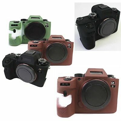 Camera Bag Protective Cover Skin Silicone Case for Sony A9 (ILCE-9) Soft 3 color
