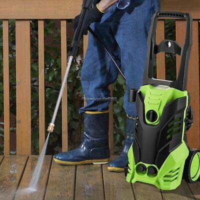 1800W 3000PSI 1.7GPM Electric High/Low Pressure Washer Cleaner Machine