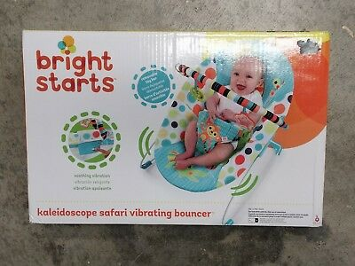 eeb9a1f57e5d BRIGHT STARTS KALEIDOSCOPE Safari Door Jumper Baby Exercise Hopper ...