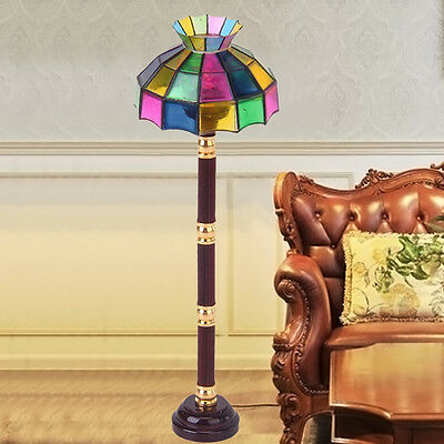 Dollhouse Miniature LED Floor Lamp Light Model Battery Operated Kids Toy Decors