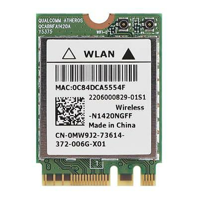Dual Band 2.4G / 5G Mini Wireless WiFi Card Bluetooth 4.0 802.11AC For Dell ASUS
