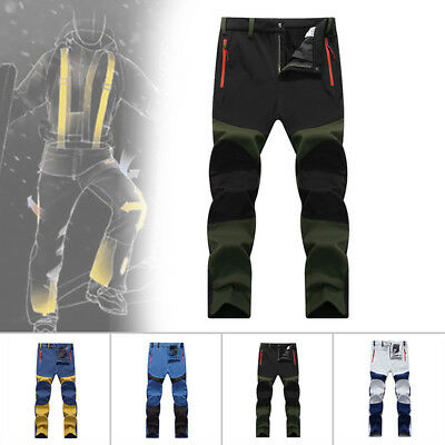 Men's Outdoor Climbing Hiking Pants Military Style Long Work Trousers Waterproof
