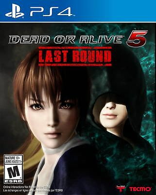 Dead or Alive 5: Last Round [PlayStation 4 PS4, Arcade Fighting Action] NEW