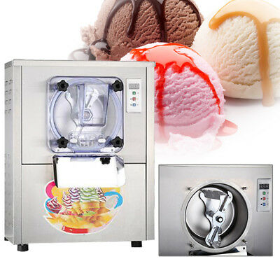 110V Commercial Hard Ice Cream Machine Frozen Ice Cream Maker 20L/H / 5.28Gal/H