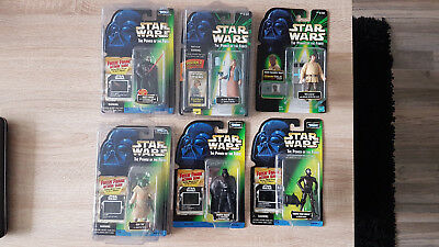 Star Wars POTF Lot 12 Figuren (Freeze Frame, Com Tech, Flash Back, POTJ,..)