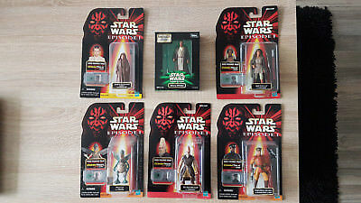 Star Wars Episode I Lot 16 Figuren (Mace Windu, Darth Maul, Amidala, u.v.m.)