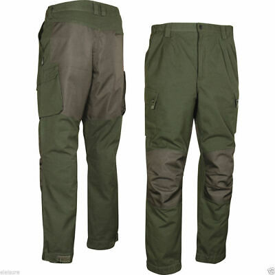 Jack Pyke Countryman Reinforced Cotton Canvas Hunter Green Beaters Trousers  Sml fd7d933509af