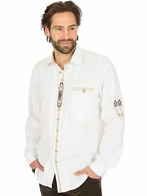Os-Trachten Traditional Shirt 320075-2540 White