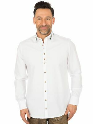 Os-Trachten Traditional Shirt 320001-3567 White