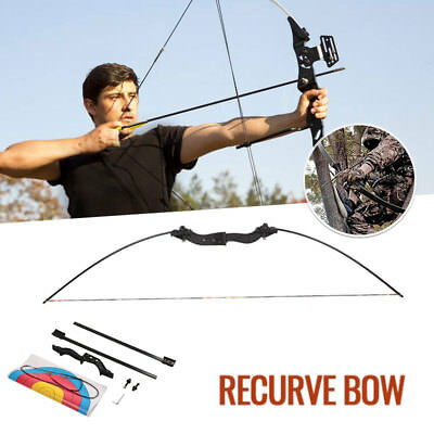Takedown Bow Arrow Hunting Bow Suit Device Aluminium Alloy Glass Fibre Powerful
