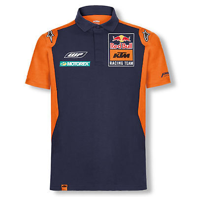 2018 Red Bull KTM Factory Racing Team Mens OTL Polo Shirt by Alpinestars