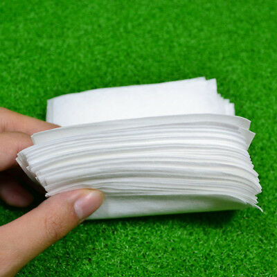 50pcs Anti-static Lint-free Wipes Dust Free Paper Paper Fiber Optic Tools
