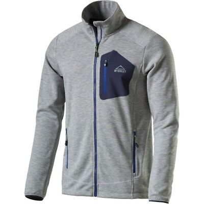 MCKINLEY HERREN OUTDOOR Sweat Fleece Jacke Fleecejacke