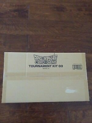 NEW Dragon Ball Super Official Tournament KIT vol. 3 factory sealed 26 packs