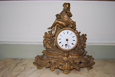 old french clock for repair or spares