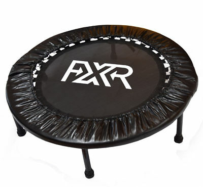 "Fxr Sports 36"" Folding Mini Trampoline Jumper Cardio Fitness Exercise Rebounder"