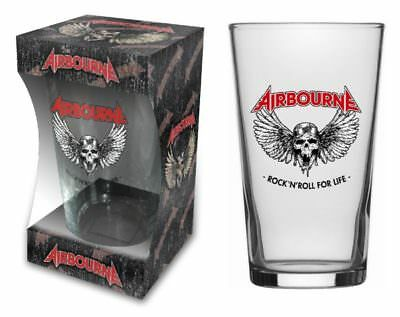 AIRBOURNE beer glass