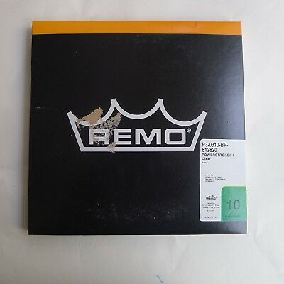 """Remo Powerstroke 3 clear in size 10"""""""