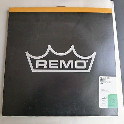 """Remo Powerstroke 3 clear in size 12"""""""