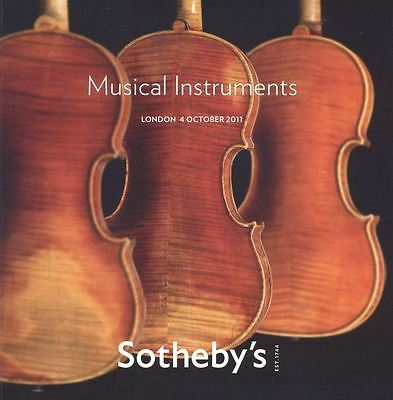 Sotheby's Catalogue Musical Instruments 06/10/2009 HB