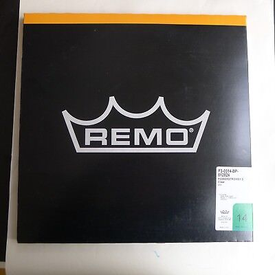 """Remo Powerstroke 3 clear in size 14"""""""