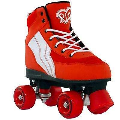 Rio Roller Pure Red/White Kids Quad Roller Skates