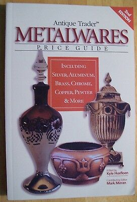 VINTAGE ART METAL $$$ id PRICE GUIDE BOOK Bronze Pewter ALUMINUM SILVER Brass