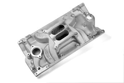SMALL BLOCK CHEVY Weiand Aluminum Intake Vortec Dual Plane 1500-6500 327,350,383