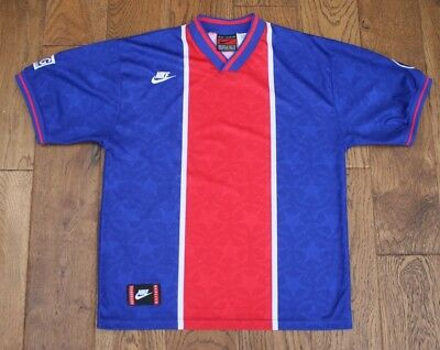 Psg Paris Saint Germain 1995-96 Home Football Shirt Jersey Maglia Nike