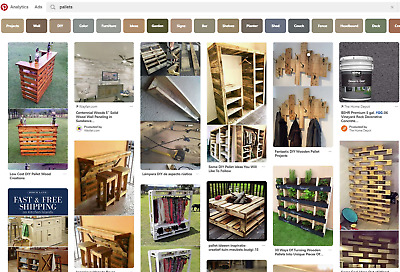 30+ Used Wood Pallets Less Than $1 Each! Cash & Carry All U Want!