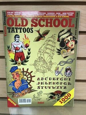 Old School Tattoos Book With 1000 Traditional Designs From Around The World