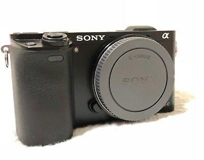 Lightly owned Sony Alpha a6000 24.3MP Digital Camera - Black (Body Only) Nice